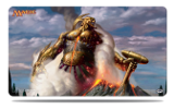Theos Purphoros, God of the Forge Playmat | Magic: The Gathering | Playmats