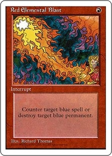 Red Elemental Blast | Magic: The Gathering Card