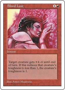 Blood Lust | Magic: The Gathering Card