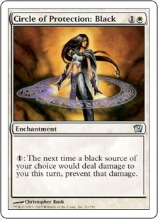 Circle of Protection: Black | Magic: The Gathering Card