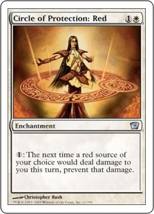 Circle of Protection: Red | Magic: The Gathering Card