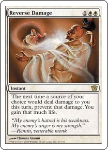 Reverse Damage | Magic: The Gathering Card