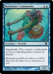 Rootwater Commando | Magic: The Gathering Card