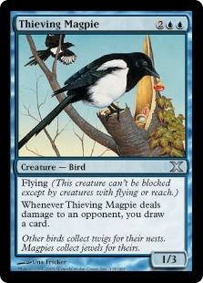 Thieving Magpie | Magic: The Gathering Card