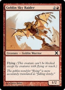 Goblin Sky Raider | Magic: The Gathering Card