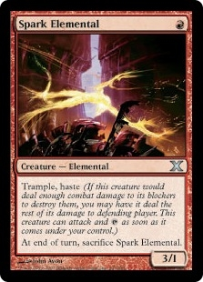 Spark Elemental | Magic: The Gathering Card