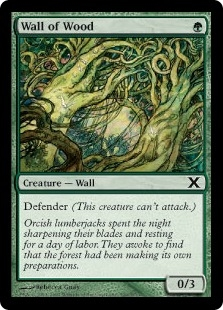 Wall of Wood | Magic: The Gathering Card