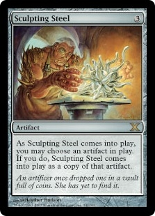Sculpting Steel | Magic: The Gathering Card