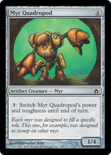 Myr Quadropod | Magic: The Gathering Card
