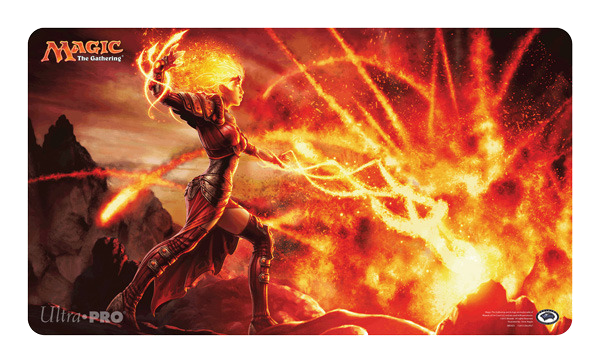 Magic 2014 M14 Flames Of The Firebrand Chandra Playmat