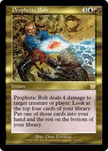 Prophetic Bolt | Magic: The Gathering Card