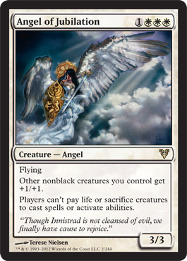Angel of Jubilation | Magic: The Gathering Card