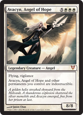 Avacyn, Angel of Hope | Magic: The Gathering Card