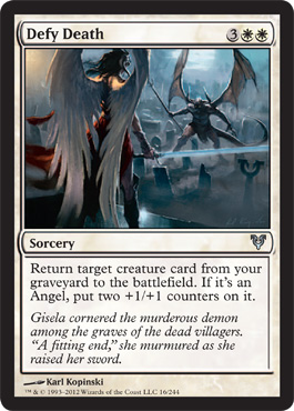 Defy Death | Magic: The Gathering Card