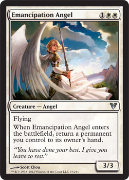 Emancipation Angel | Magic: The Gathering Card