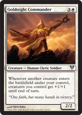 Goldnight Commander | Magic: The Gathering Card