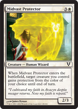 Midvast Protector | Magic: The Gathering Card