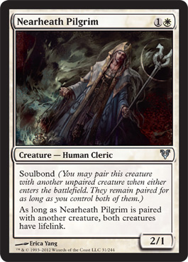 Nearheath Pilgrim | Magic: The Gathering Card