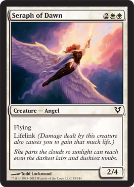 Seraph of Dawn | Magic: The Gathering Card