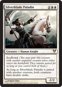 Silverblade Paladin | Magic: The Gathering Card