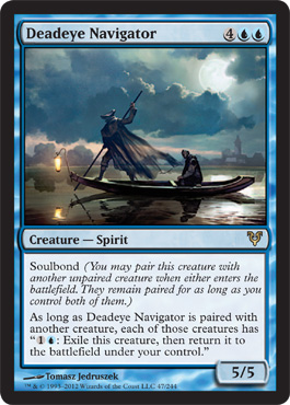 Deadeye Navigator | Magic: The Gathering Card