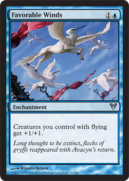 Favorable Winds | Magic: The Gathering Card