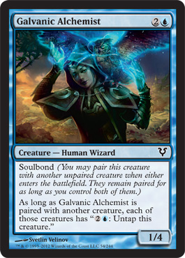 Galvanic Alchemist | Magic: The Gathering Card