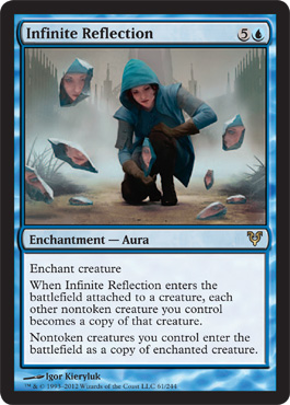 Infinite Reflection | Magic: The Gathering Card