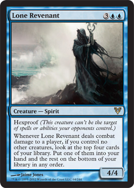 Lone Revenant | Magic: The Gathering Card