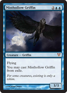 Misthollow Griffin | Magic: The Gathering Card