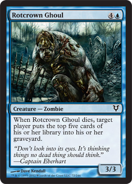 Rotcrown Ghoul | Magic: The Gathering Card