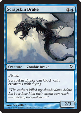Scrapskin Drake | Magic: The Gathering Card