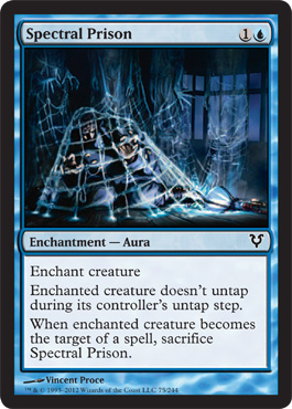 Spectral Prison | Magic: The Gathering Card