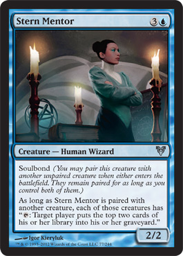 Stern Mentor | Magic: The Gathering Card