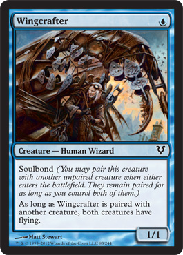 Wingcrafter | Magic: The Gathering Card