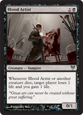 Blood Artist | Magic: The Gathering Card