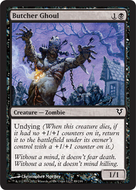 Butcher Ghoul | Magic: The Gathering Card