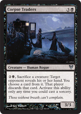 Corpse Traders | Avacyn Restored | Magic: The Gathering at ... Planeswalker Activated Ability