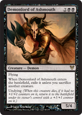 Demonlord of Ashmouth | Magic: The Gathering Card
