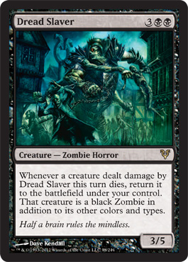 Dread Slaver | Magic: The Gathering Card