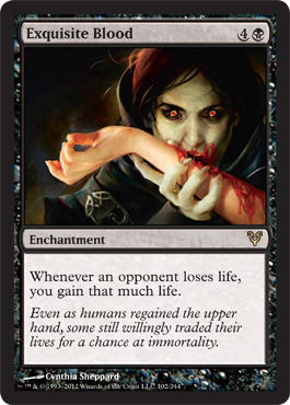 Exquisite Blood | Magic: The Gathering Card