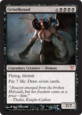 Griselbrand | Magic: The Gathering Card