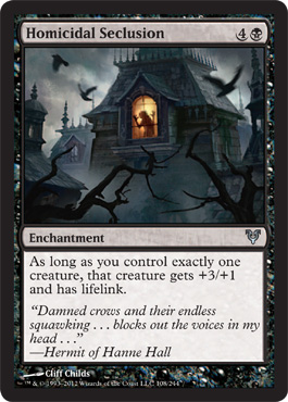 Homicidal Seclusion | Magic: The Gathering Card