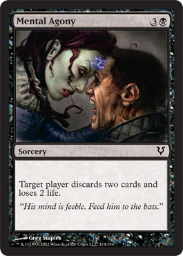Mental Agony | Magic: The Gathering Card