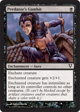 Predator's Gambit | Magic: The Gathering Card