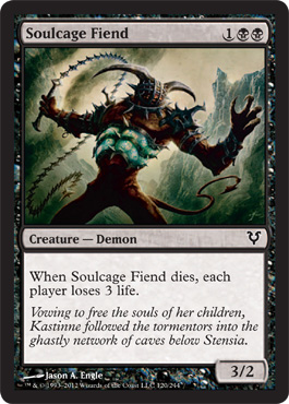 Soulcage Fiend | Magic: The Gathering Card