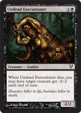 Undead Executioner | Magic: The Gathering Card
