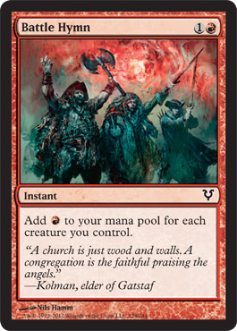 Battle Hymn | Magic: The Gathering Card