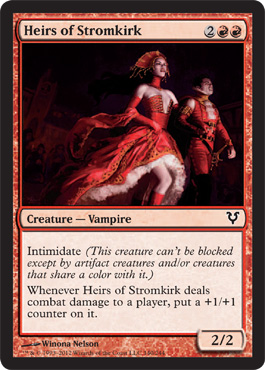 Heirs of Stromkirk | Magic: The Gathering Card