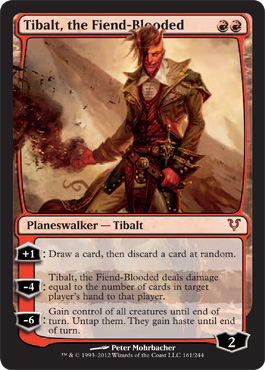 Tibalt, the Fiend-Blooded | Magic: The Gathering Card